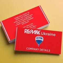Визитка REMAX Ukraine