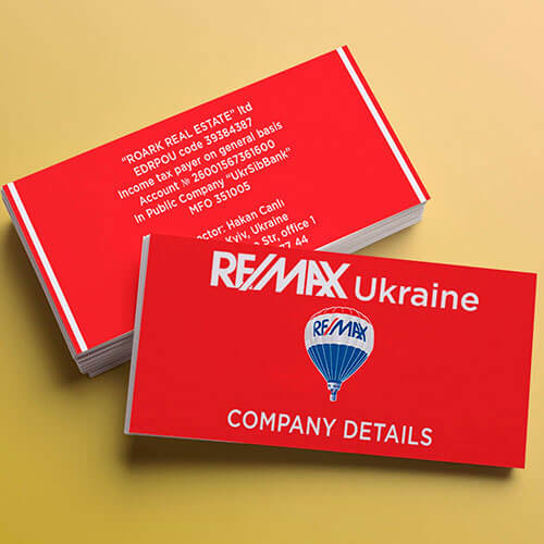 Визитка REMAX Ukraine
